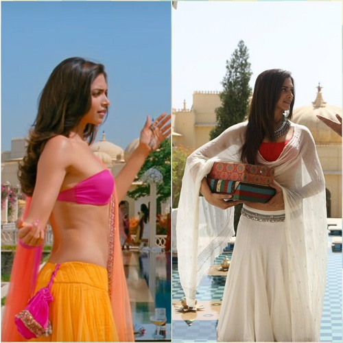 4 bollywood lehengas