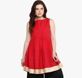 4 party wear kurtis