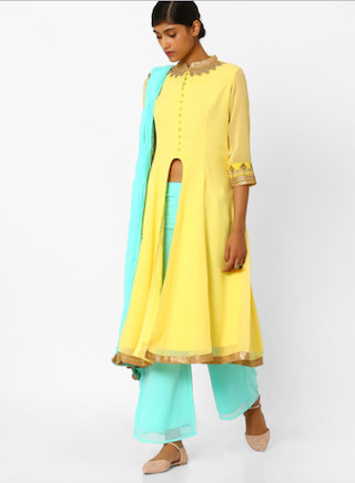 5 anarkali suits for the wedding guest