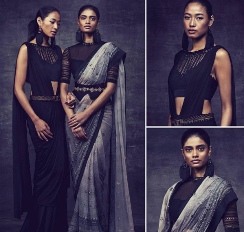 6 saree draping styles