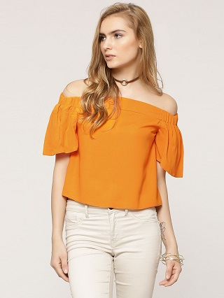 7 bright coloured tops