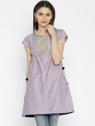 9 party wear kurtis