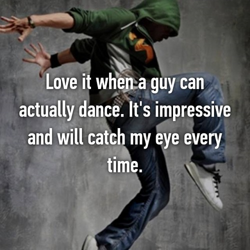 what girls find impressive about guys 10