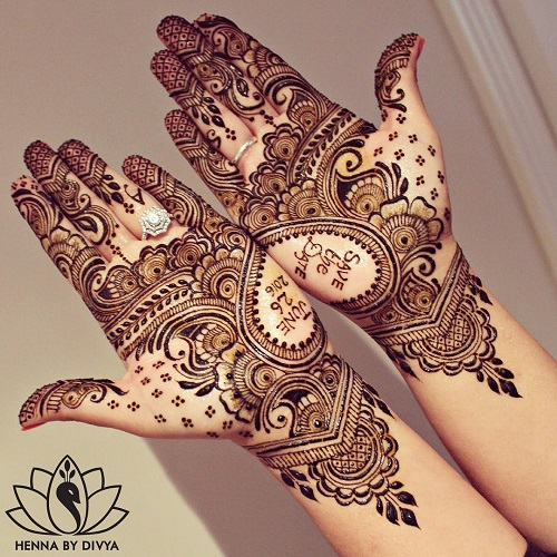 10 bridal mehendi designs