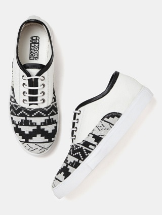 14 printed sneakers for college girls