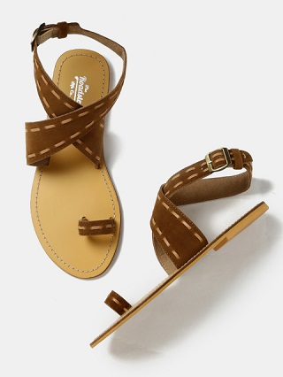 2 affordable strappy sandals