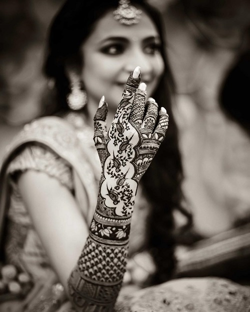 2 bridal mehendi designs