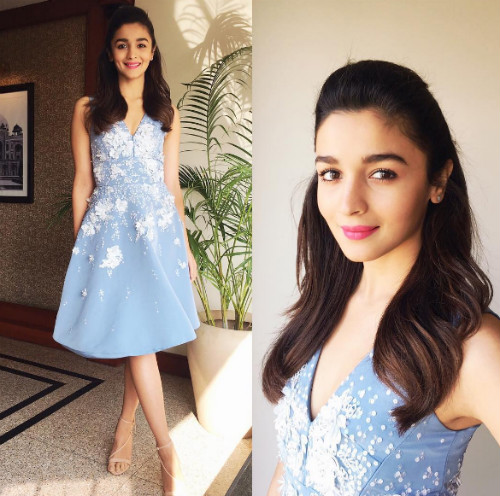 2 hairstyles for college girls - alia bhatt