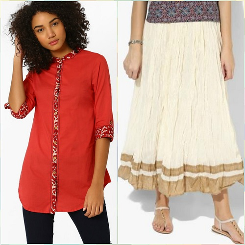 2 style a kurti not just with jeans