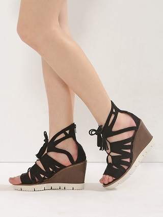 3 comfortable wedge heels