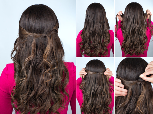 Easy & Simple Hairstyles For College Girls - Step By Step Guide | POPxo