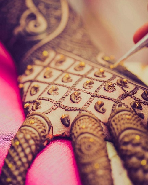 6 bridal mehendi designs