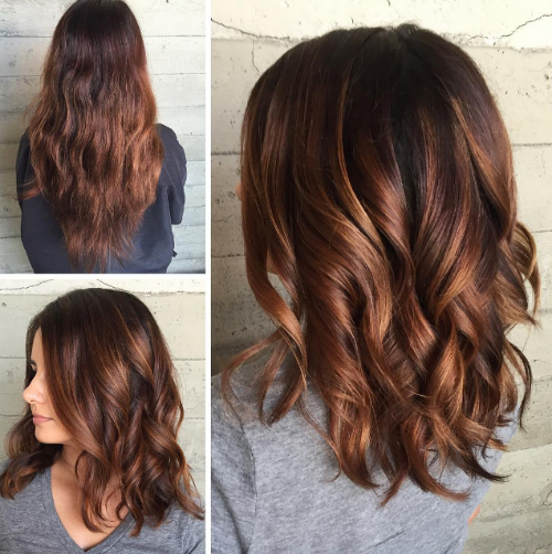 7 highlights for brown hair