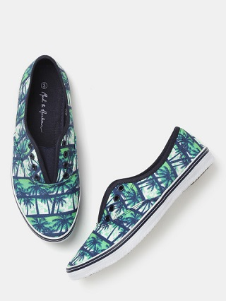 8 printed sneakers for college girls