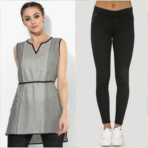 8 style a kurti not just with jeans (1)