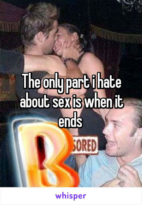 1 not love about sex