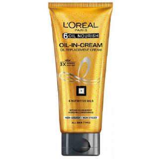 1 products to use after washing your hair - loreal oil replacement cream