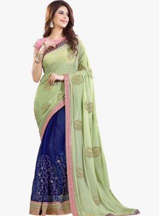 10 sarees for the wedding guest