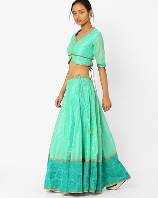 11 colourful and affordable lehengas