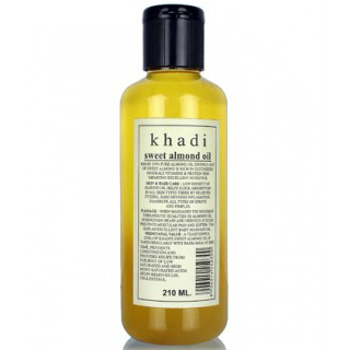 12 beauty products - khadi almond oil