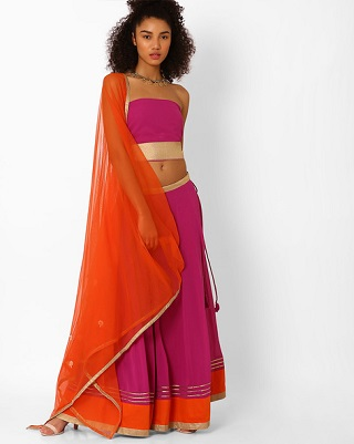 12 colourful and affordable lehengas