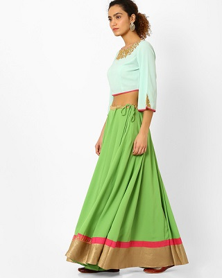 13 colourful and affordable lehengas