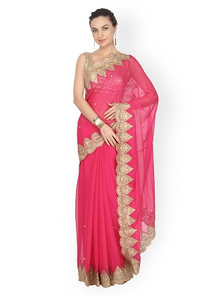 2 sarees for the wedding guest