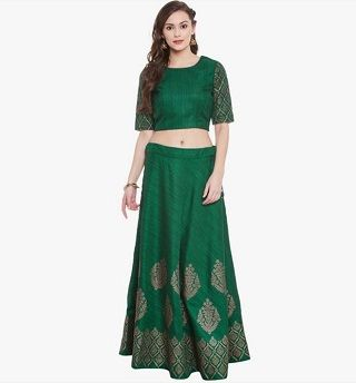 3 colourful and affordable lehengas