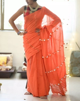 3 sarees for the wedding guest