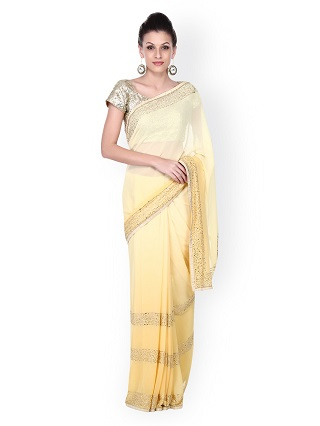 4 sarees for the wedding guest