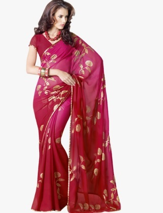 6 sarees for the wedding guest