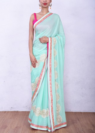 7 sarees for the new bride