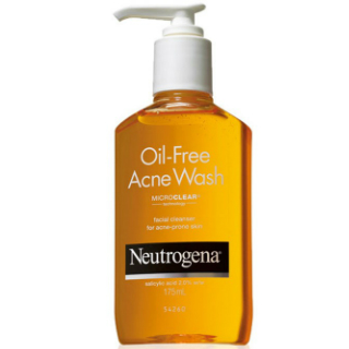 7 skincare products - Neutrogena Oil-Free Acne Wash