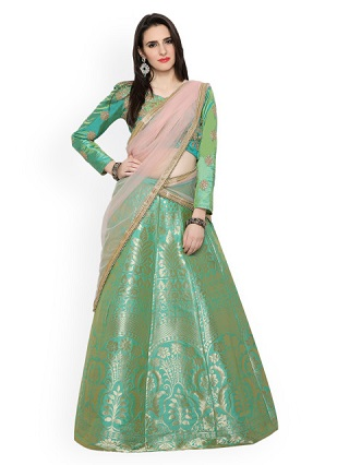 8 colourful and affordable lehengas