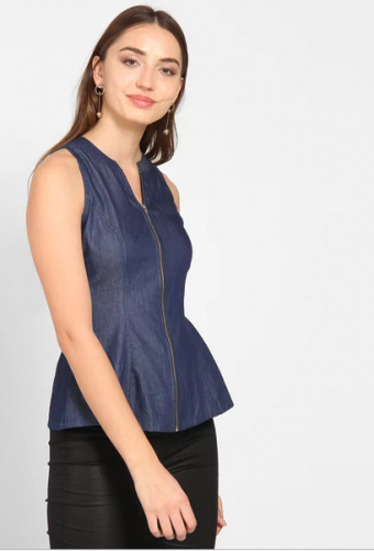 Blue-Claire-Denim-Casual-top-tops-to-wear-with-jeans