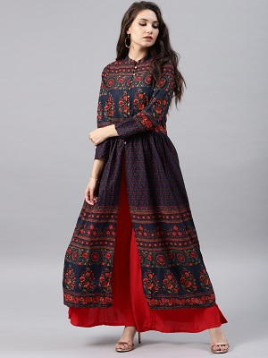 Stay-in-slit-stylish-printed-kurtis
