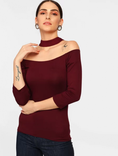The-Sexy-Burgundy-tops-to-wear-with-jeans