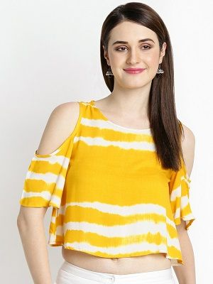 Yellow-White-Tie-Dye