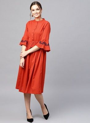 red-dress-with-sleeves