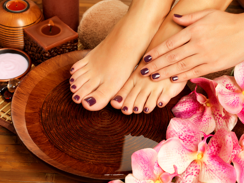 8 bridal beauty countdown - manicure and pedicure