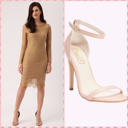 1-bachelorette party outfits-all about you dress call it spring stilettos
