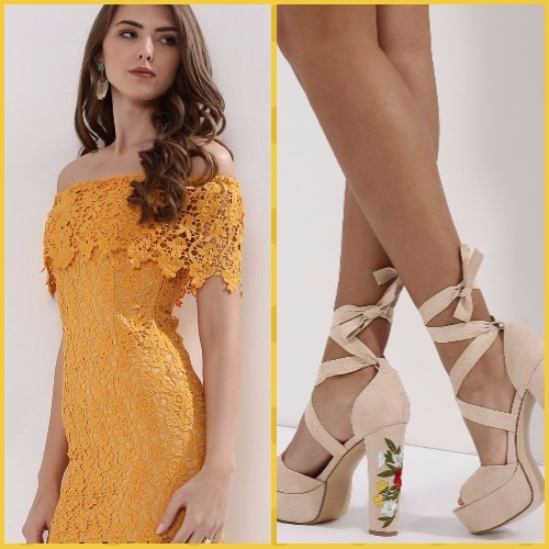 10-bachelorette party outfits-cover tory dress trufle collection shoes