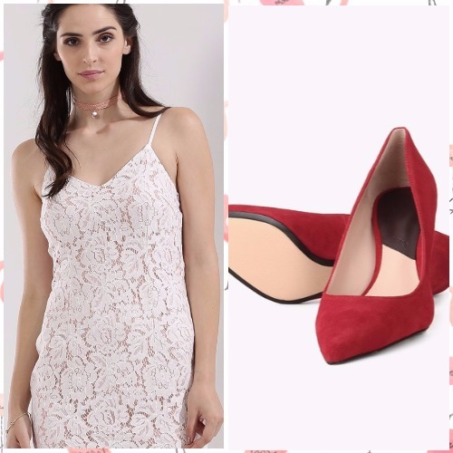 5-bachelorette party outfits-ax paris dress mango shoes