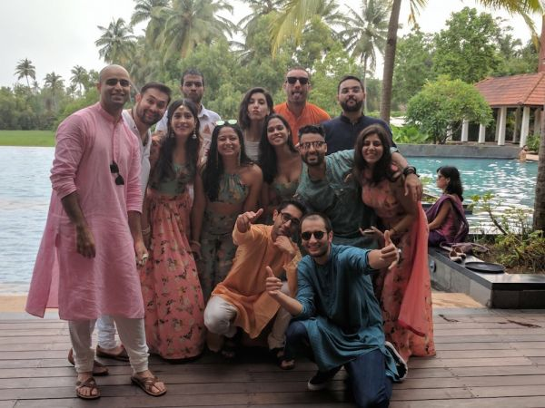 11 coordinated outfits for the mehendi