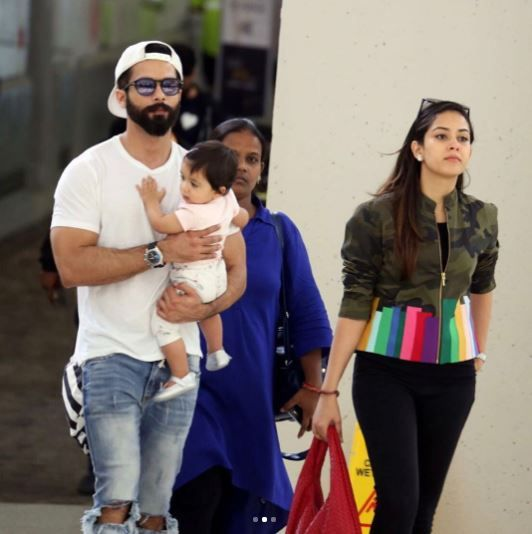 Shahid And Mira Rajput IIFA 2017 airport looks