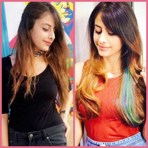 2 hair makeovers - mehak sethi