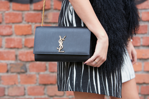 12- designer handbags - YSL Classic Kate Satchel