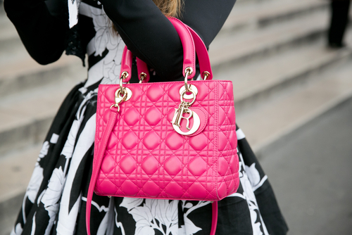 2 -designer handbags-  Lady Dior