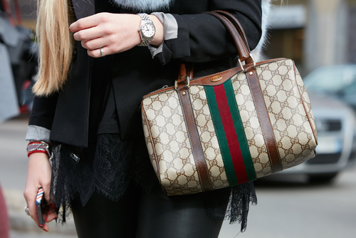 7- designer handbags- Gucci Monogram Canvas