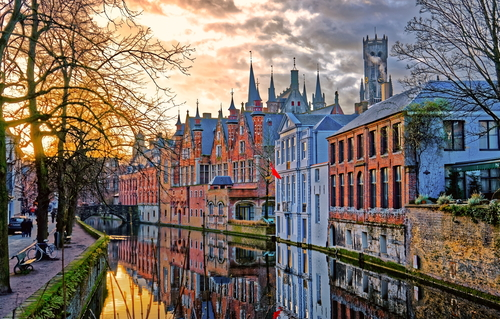 7 holiday destinations - bruges